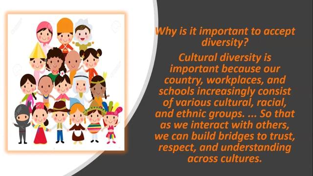 Positive Behavior -   Diversity