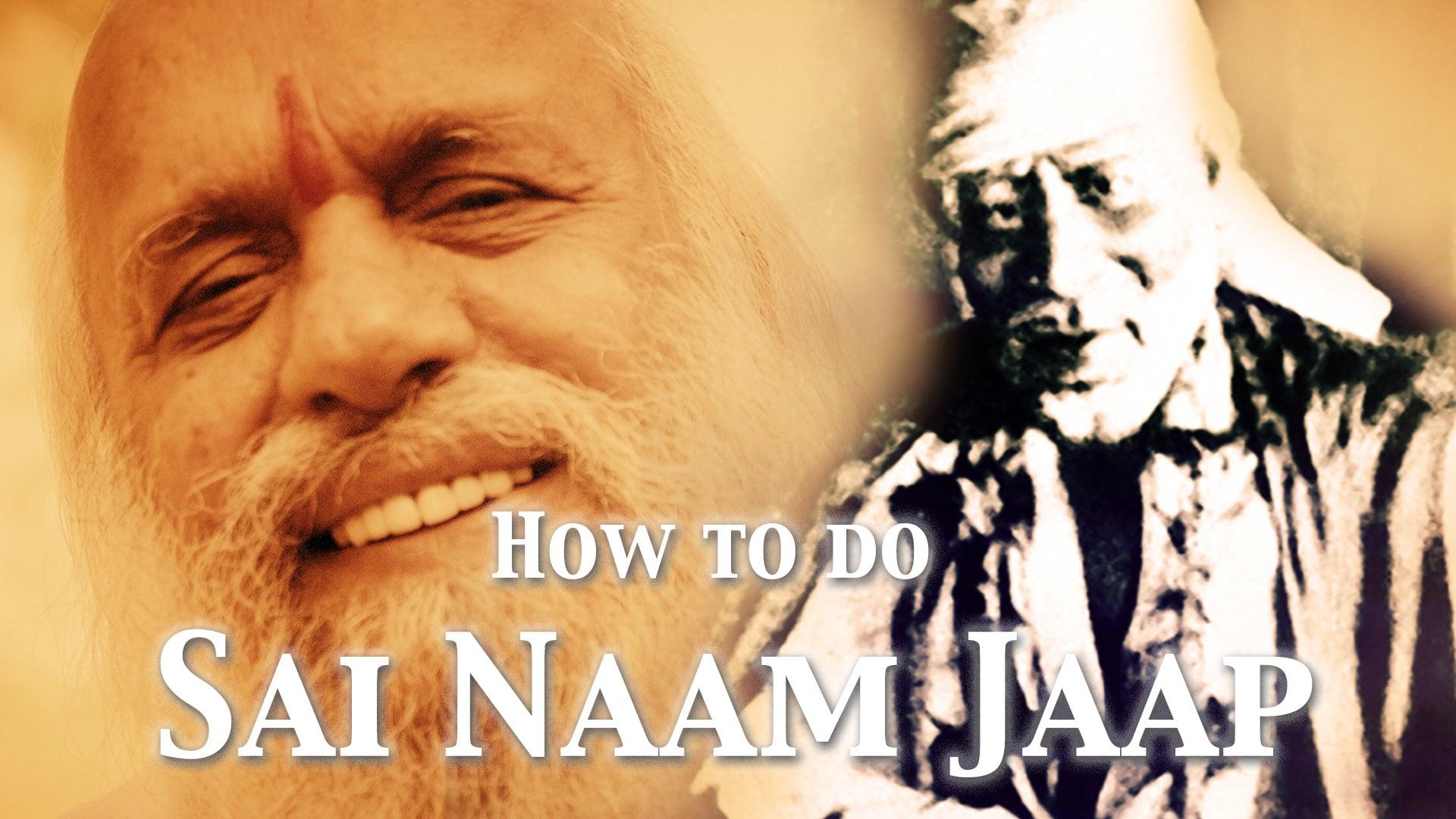 How to do Sai Naam Jaap