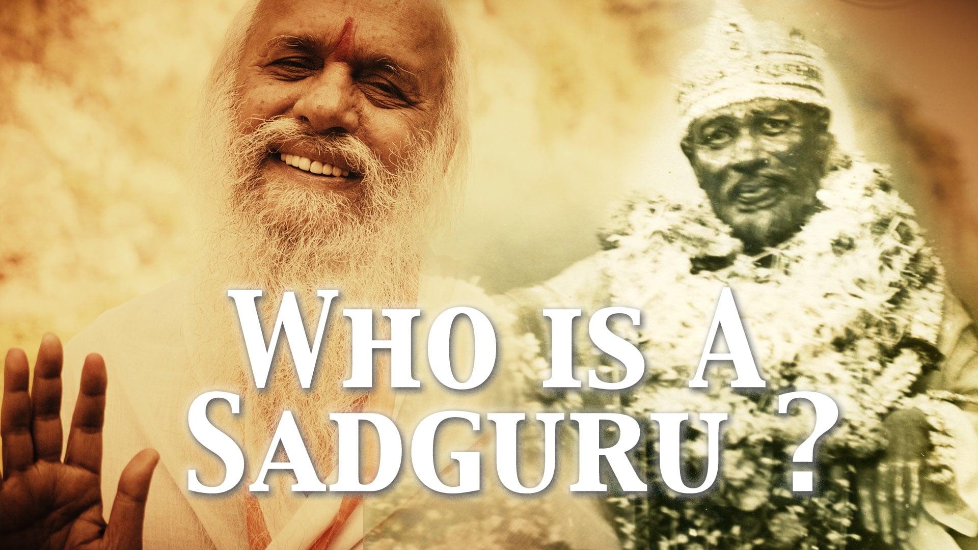 Who is a Sadguru