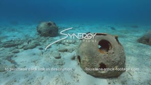 2212 artificial coral reef balls in caribbean