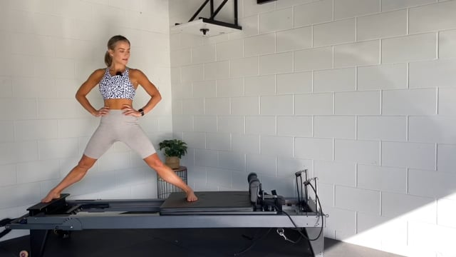 30min inner thigh, arms and abs reformer workout