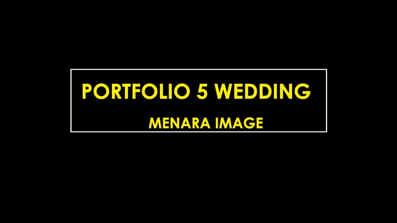 portfolio 5 wedding