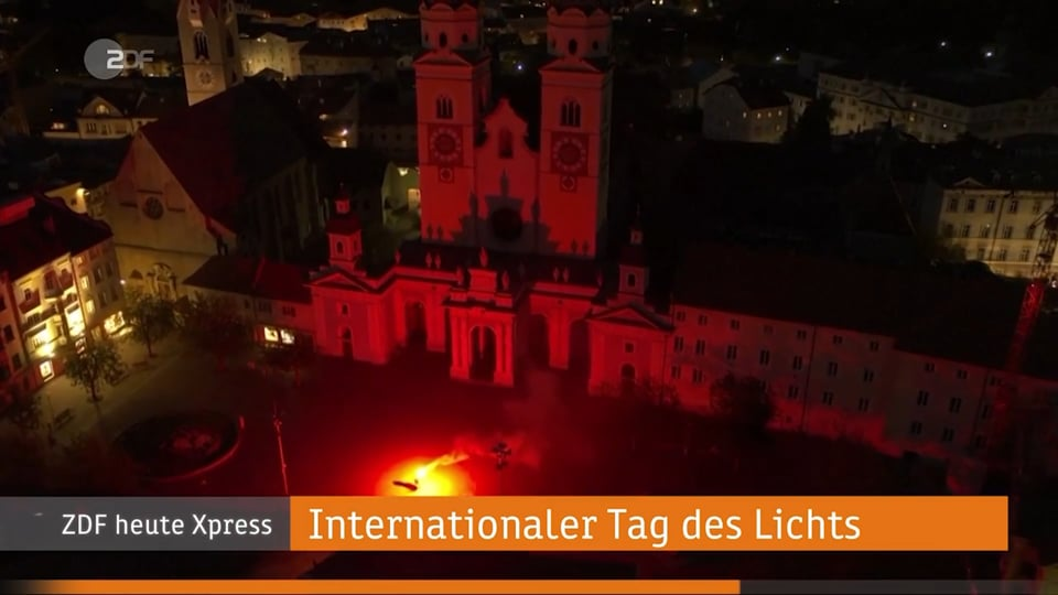 Water Light Festival 2020: Broadcasts examples - 5.38 min