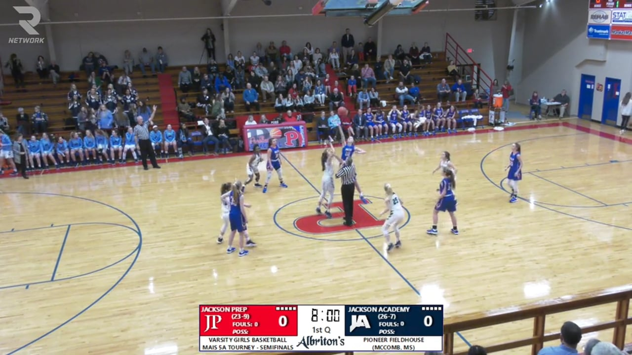Varsity Girls Basketball-2020-Feb-21-JA vs Prep (5A State Tournament Semifinals)