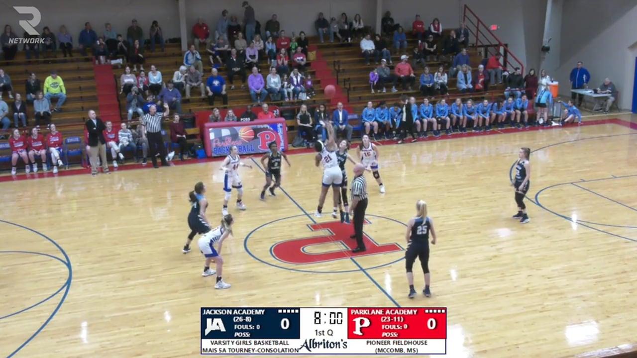 Varsity Girls Basketball-2020-Feb-22-JA vs Parklane (5A State Consolation)