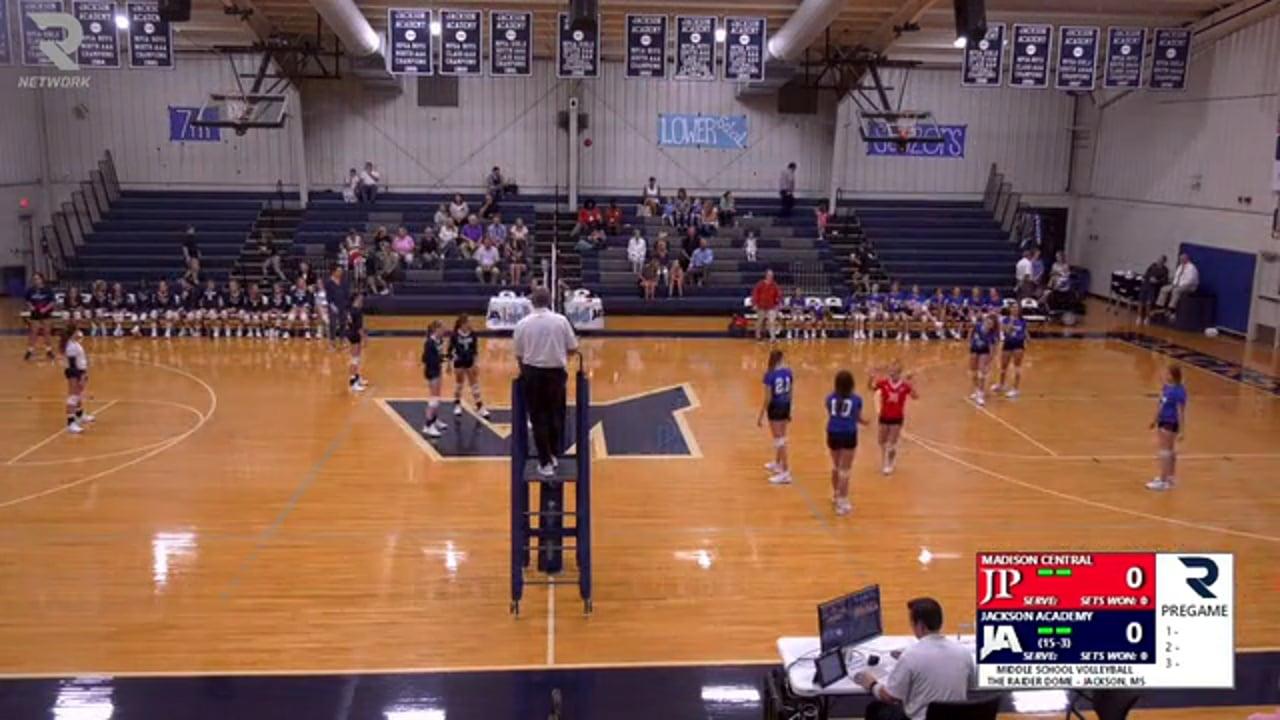MS Volleyball vs Jackson Prep - 09-24-19