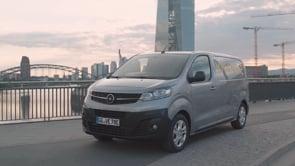 Vivaro-e Van TV Footage 2020