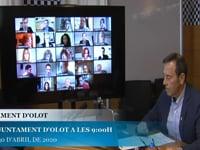 Ajuntament d'Olot - Ple extraordinari 30.04.20