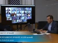 Ajuntament d'Olot - Ple abril 16.04.20