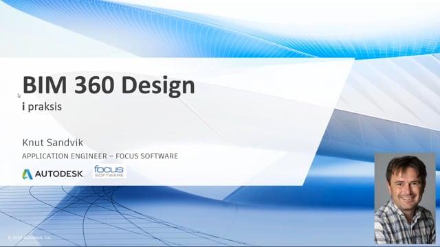 Bedre arbeidsflyt med BIM 360 Design