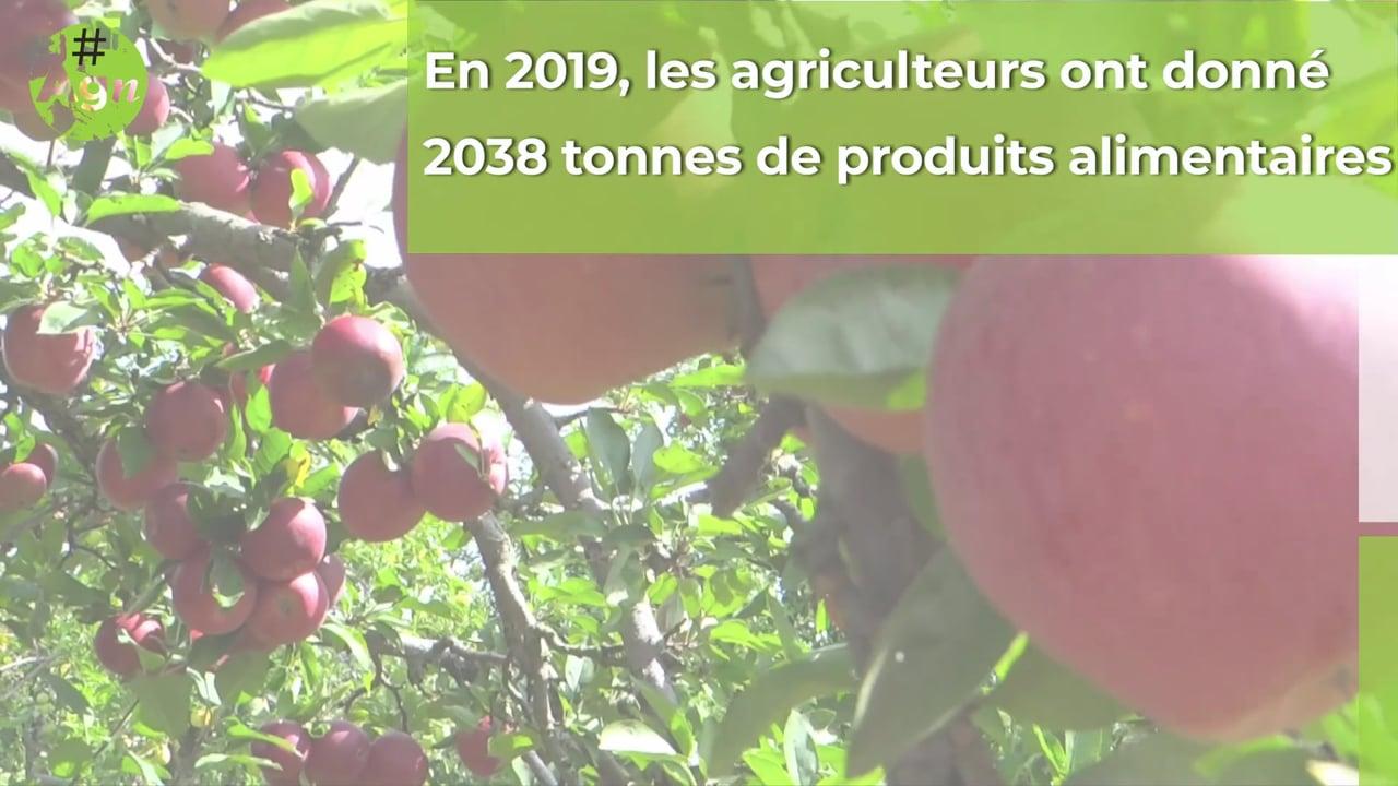 Les dons des agriculteurs en forte hausse en 2019