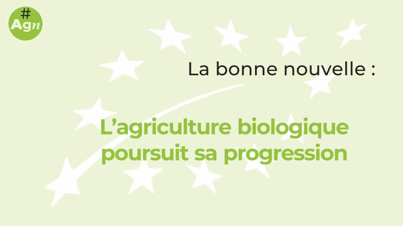 #AgriGoodNews : la consommation de produits bio poursuit sa hausse
