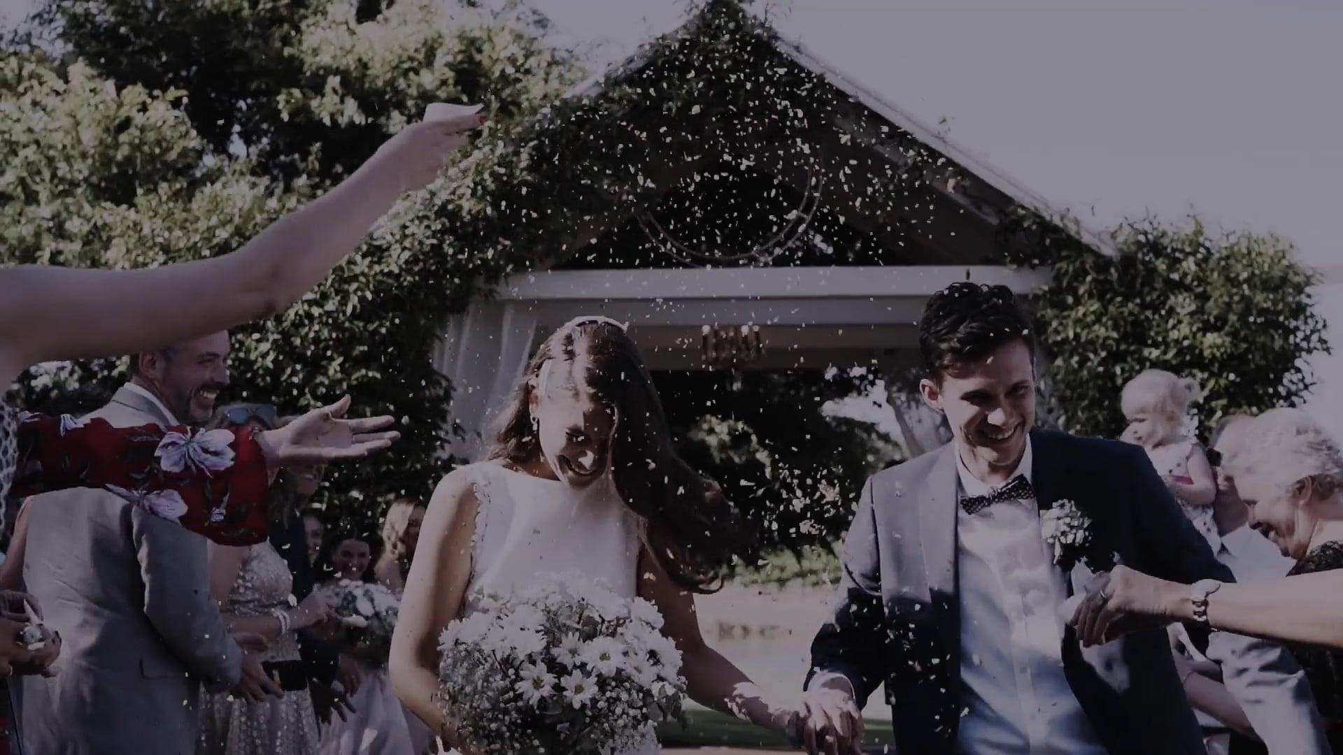 S + M // COUNTRYSIDE GARDEN WEDDING