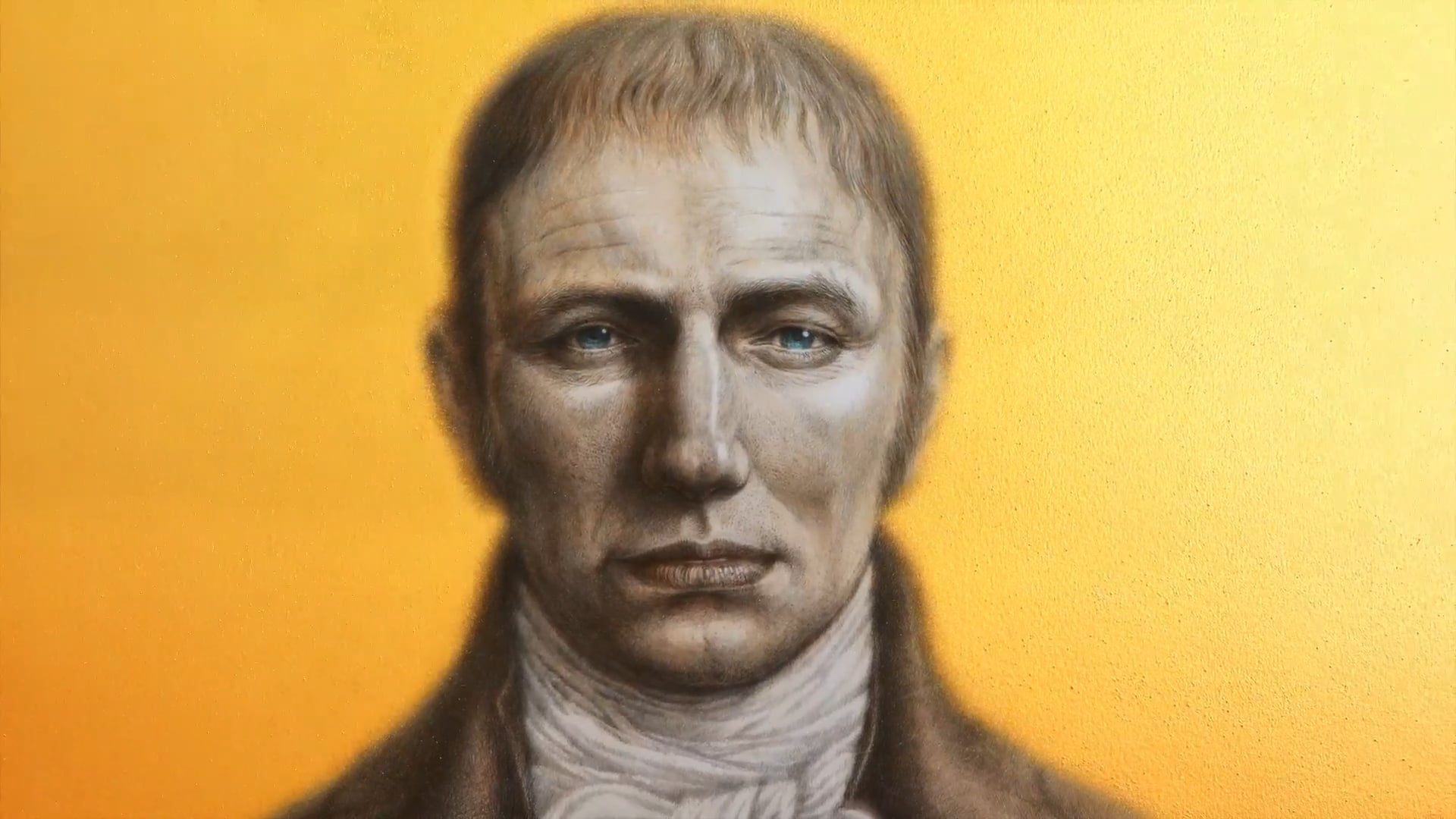 Drawing of William Wordsworth - Creative Process