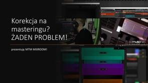 Jak działa korekcja na masteringu z MIXROOM?
