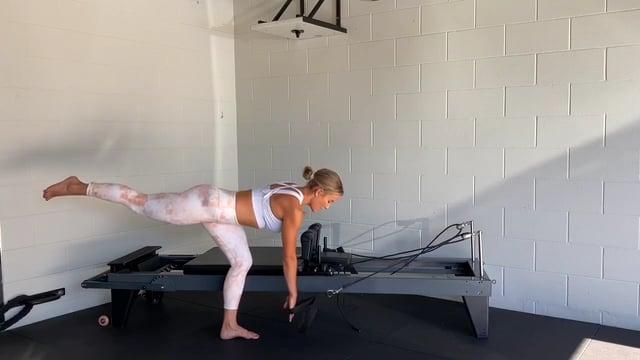 30min lower body reformer workout