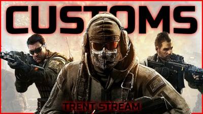 Call of Duty Customs With Ninjas! - Stream Replay