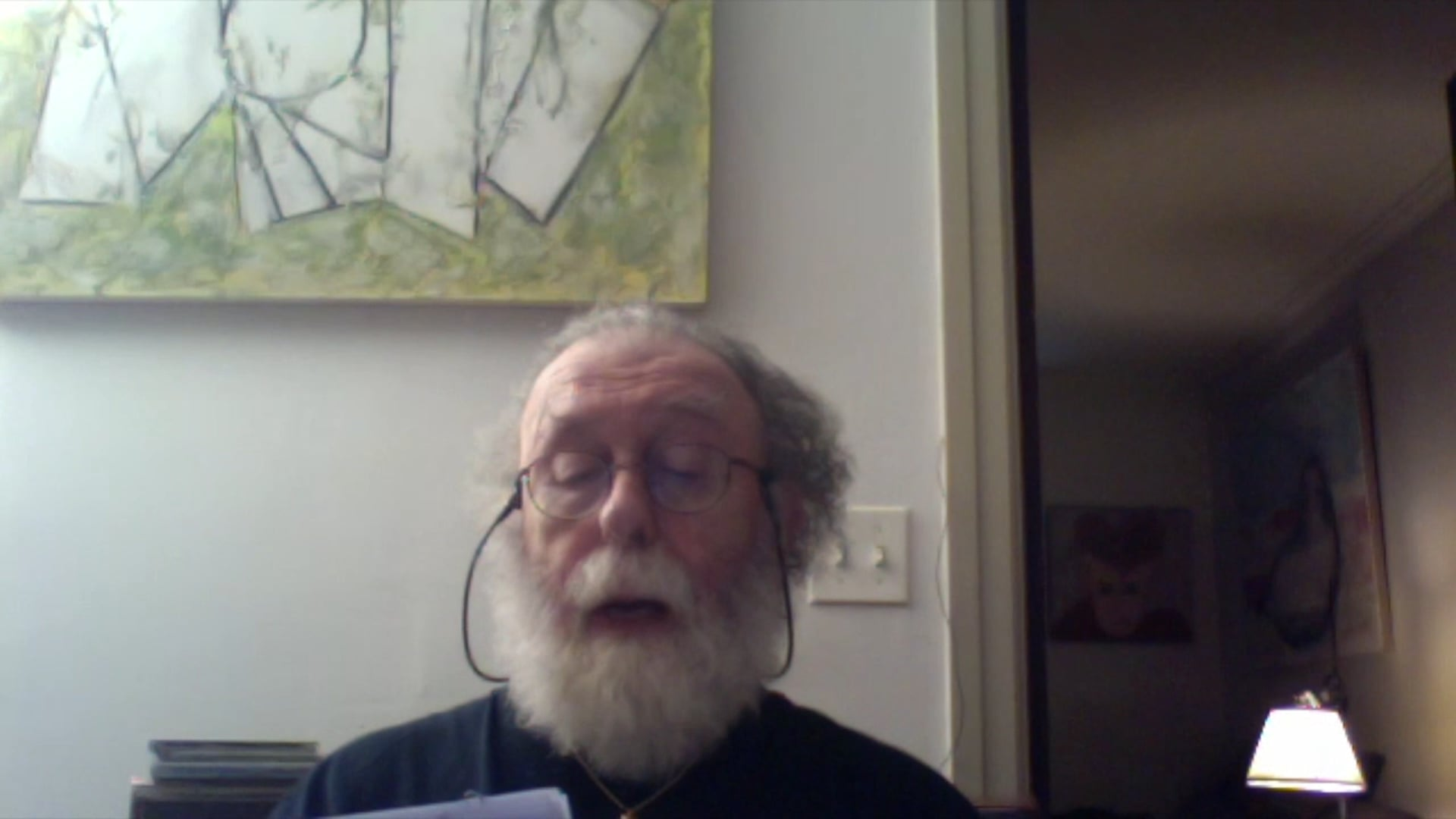 Basil King reads from Disparate Beasts