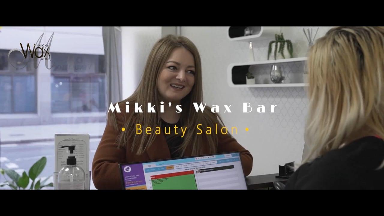 Mikki Wax Bar Promo