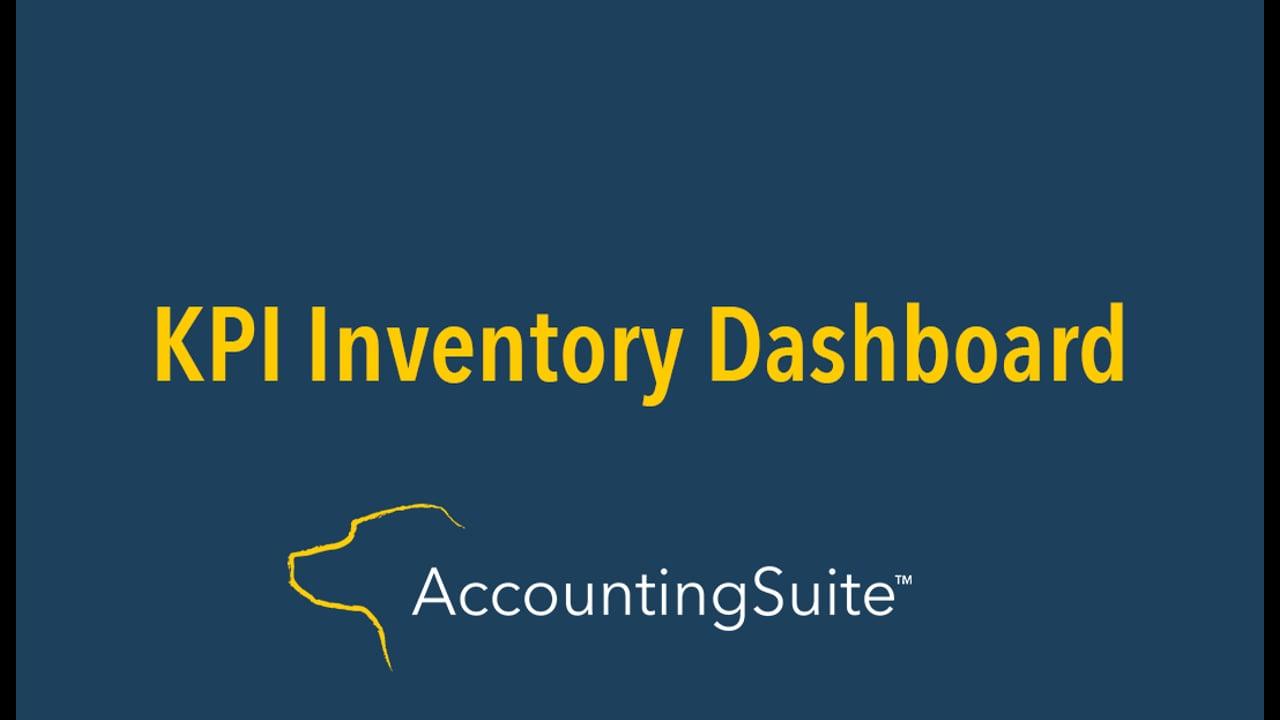 Inventory KPI Dashboard