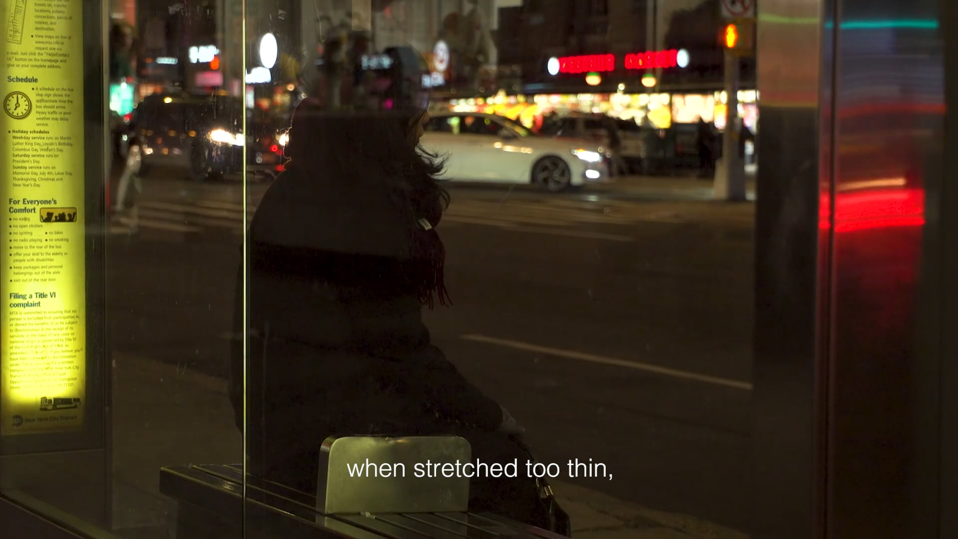when stretched too thin (Trailer), 2020–2021. Single-channel HD video, color, sound, 14:12 min.