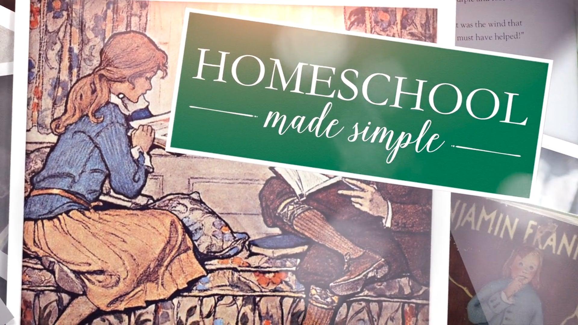 Homeschool Made Simple with Carole Joy Seid - Trailer