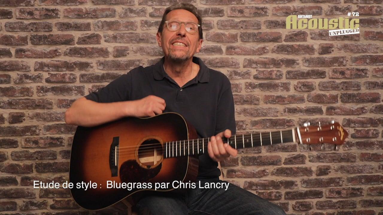 AC72 01 Etude de style  Chris Lancry EX01 Les 4 accords