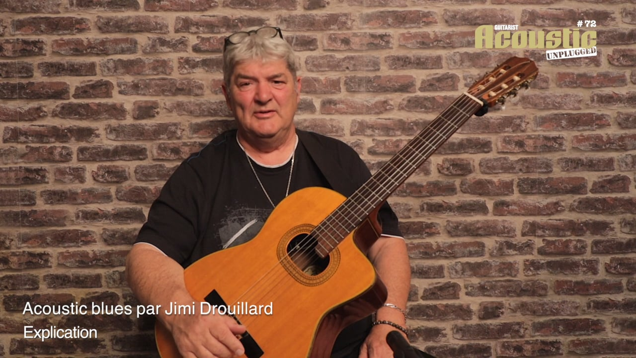AC72 24 Acoustic Blues Jimi Drouillard Explication