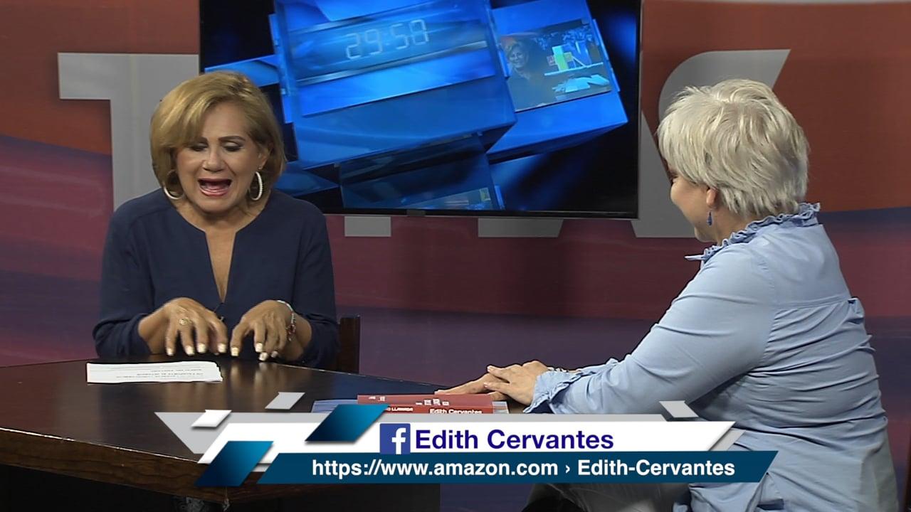Edith Cervantes, escritora