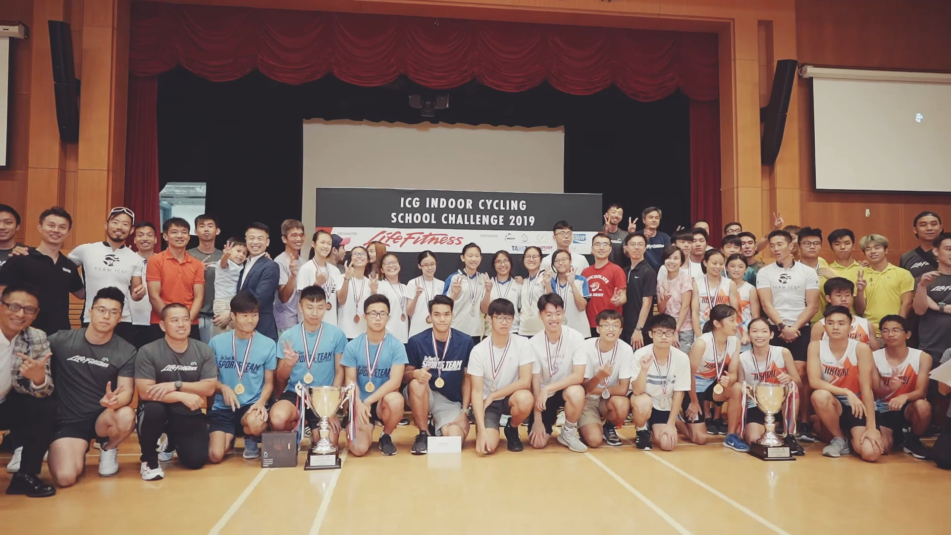HK Fitness Indoor Cycling competition Highlight