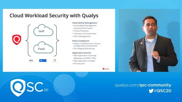 Qualys RSA 2020 - Badri Raghunathan