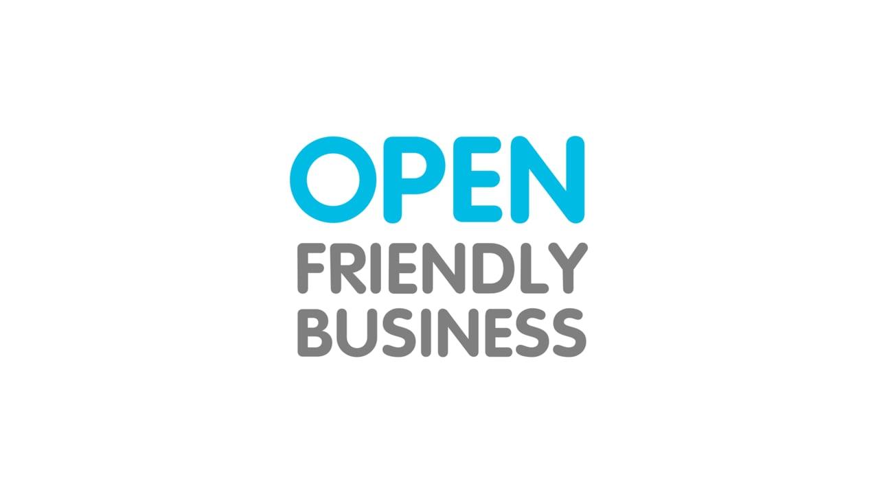 Ролик для открытия  Первой федеральной премии Open friendly business 2019