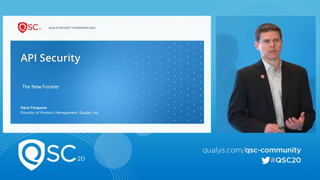 Qualys RSA 2020 - Dave Ferguson