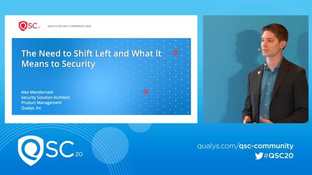 Qualys RSA 2020 - Alex Mandernack
