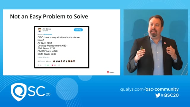 Qualys RSA 2020  - Chris Carlson -  Building An Always Up To Date