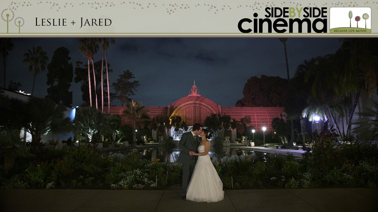 Leslie + Jared - Prado San Diego Wedding