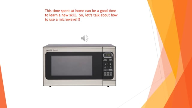 How to - Use a microwave