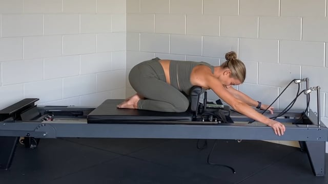20min upper body reformer workout