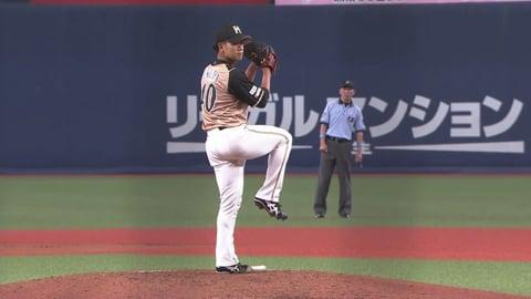 【8回裏】ファイターズ・福田がプロ初登板で空振り三振を奪う!! 2020/7/7 B-F