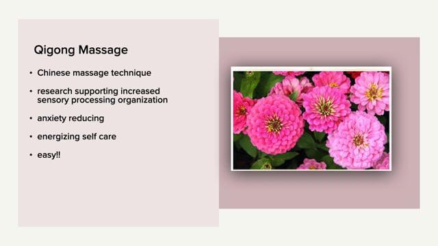 How to - Qigong Self Massage