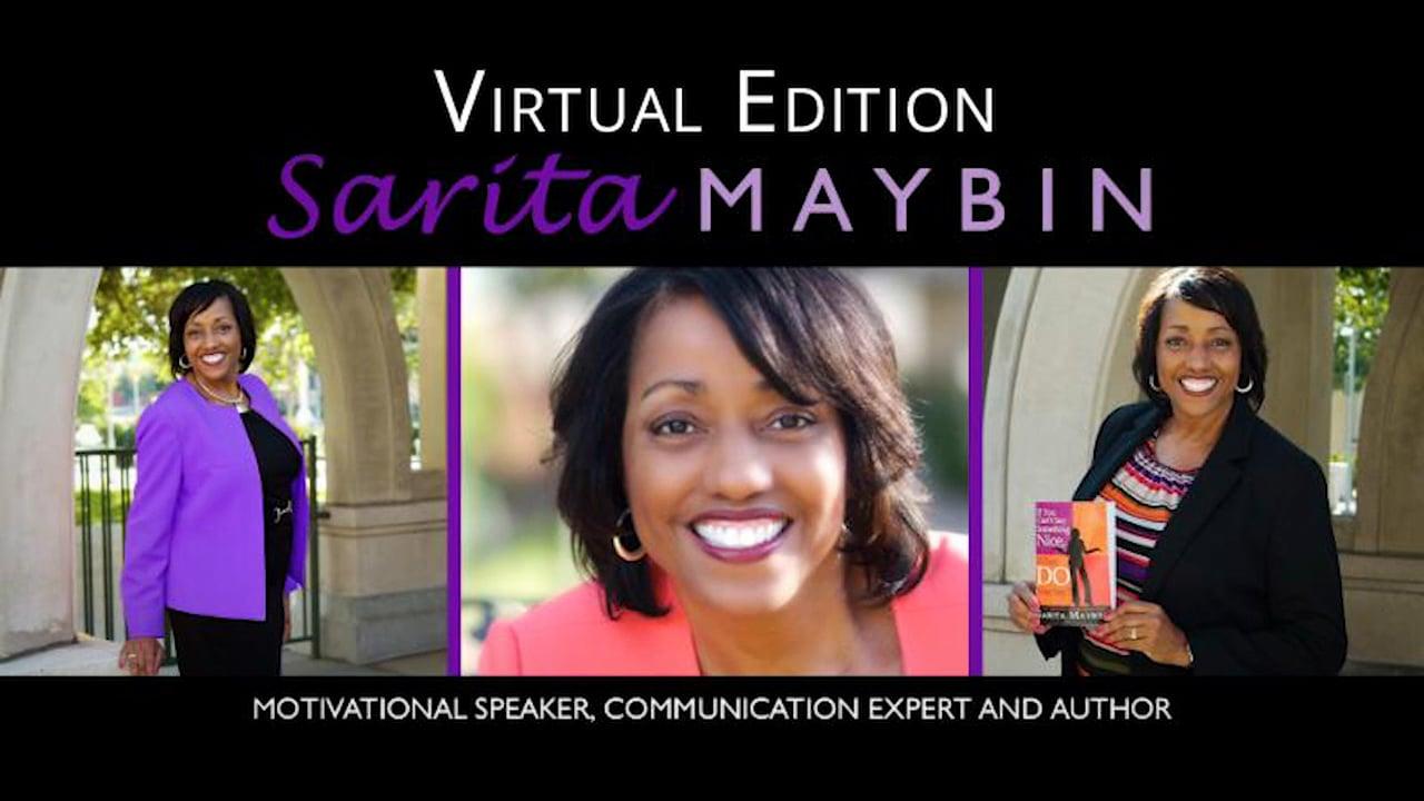 Sarita Maybin Motivational Speaker, Communication Expert And Author - Promotional Film