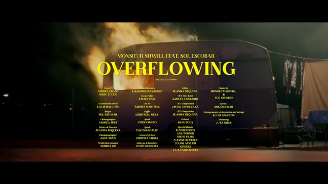 OVERFLOWING Monsieur Shwill Feat Sol Escobar (Official Video)