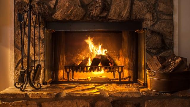 Fireplace. Part 2