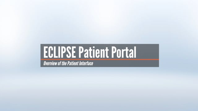 Patient Portal Interface Overview