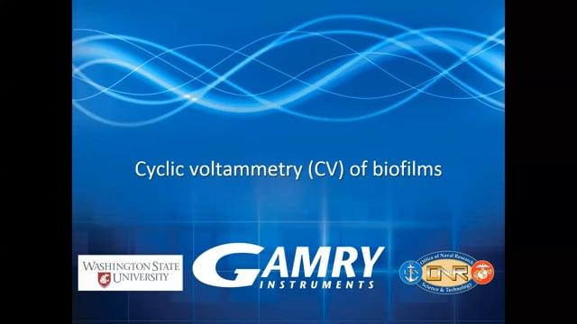 Cyclic Voltammetry of Biofilms