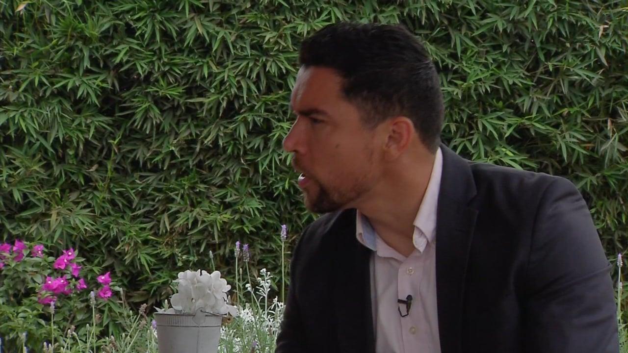 Hiram Hernández, estilista profesional