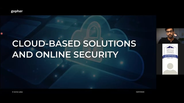 Cloud based solutions and online security