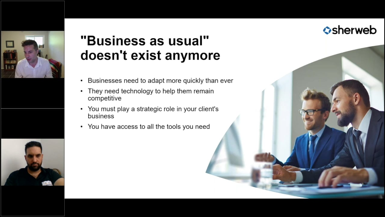 Live Webinar : Business as (un)usual is the new MSP reality