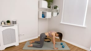 Full Body Toning and Cardiovascular (with Ring and Light Weights)