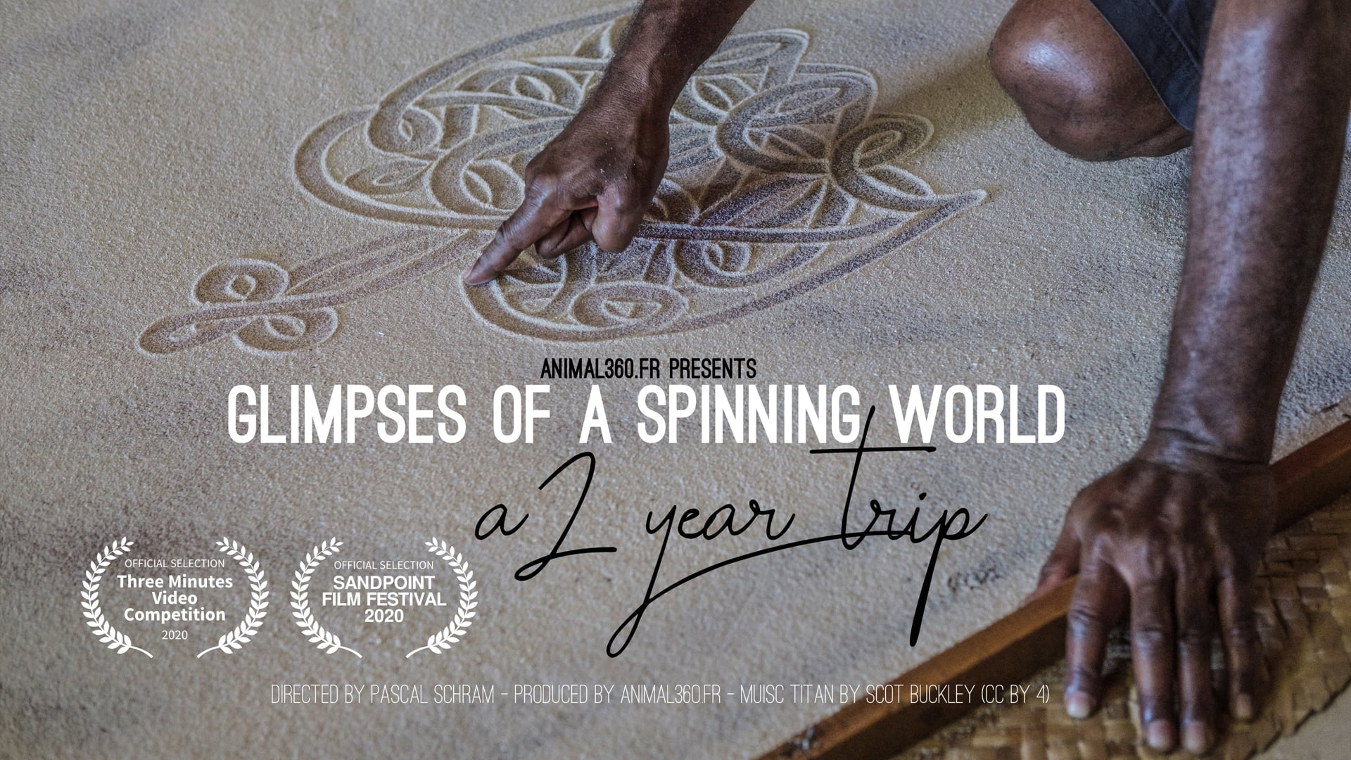 Glimpses of a spinning world